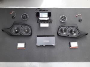 HiFi Audio System Jehnert Dynavin BMW e87 1er (2)